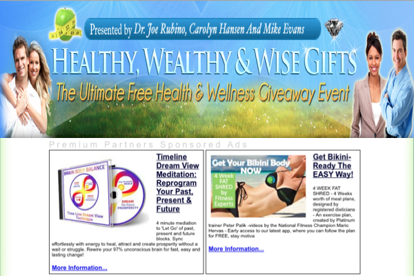 Giveaway: Healthy, Wealthy & Wise