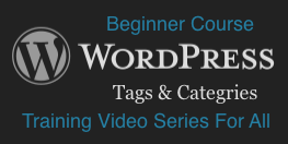 WordPress: Tags And Categories
