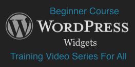 WordPress: Widgets