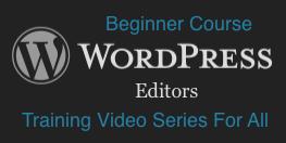 WordPress: Editors