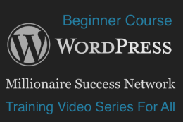 MSN: WordPress Training Video Series Featured Image