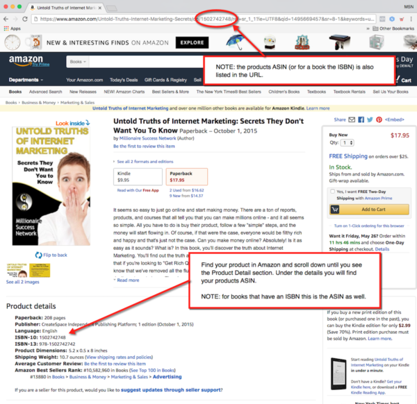 Amazon Affiliate Product Page