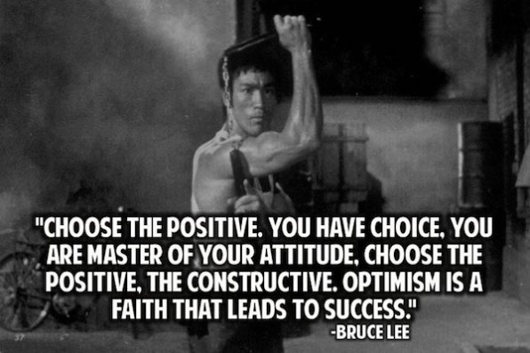 Bruce Lee Words of Wisdom