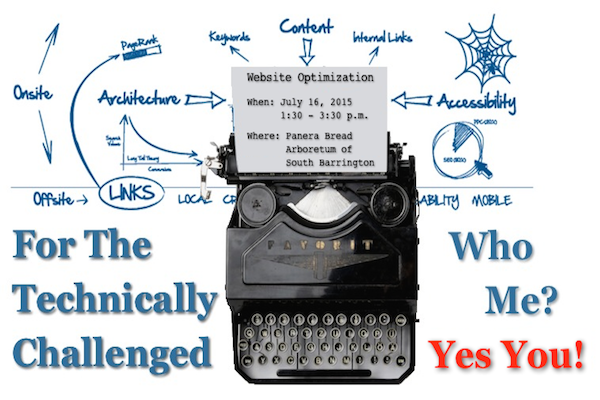 Website Optimization for the Technically Challenged - Yes You
